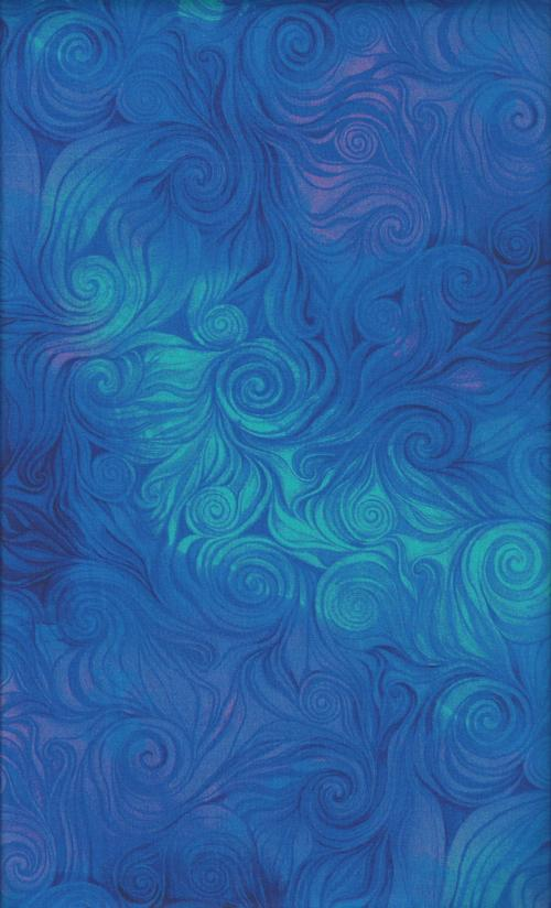 Timeless Treasures Awaken cd6554-blue
