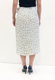 By Timo Klær - Skjørt Wrap Skirt Sunflower Lyseblå Sapatos