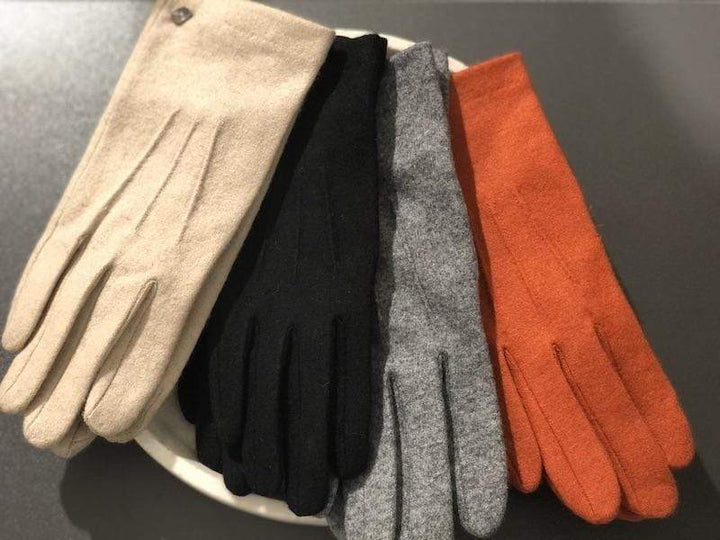 Classic Touch glove wool Sort
