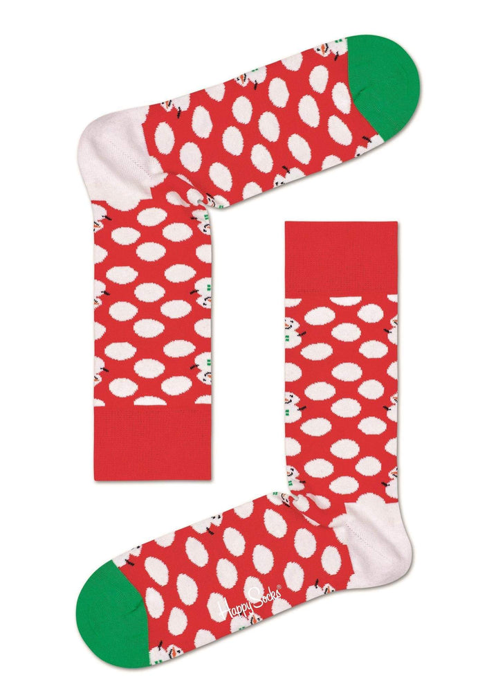Happy Socks Sokker Big Dot Snowman sock Rød Sapatos
