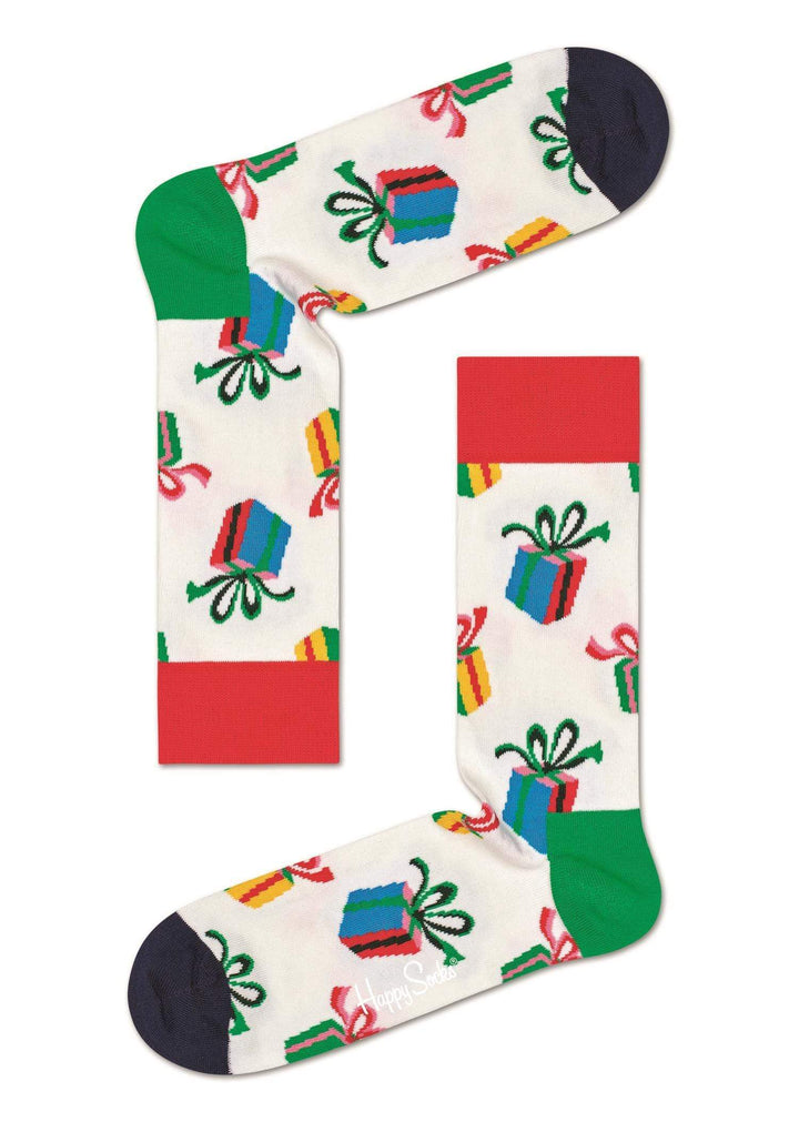 Happy Socks Sokker Presents Sock Hvit Sapatos