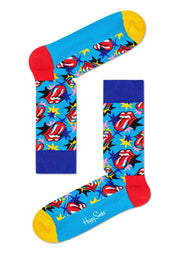 Happy Socks Tilbehør - Sokker Rolling Stones I got the blues sock Blå Sapatos