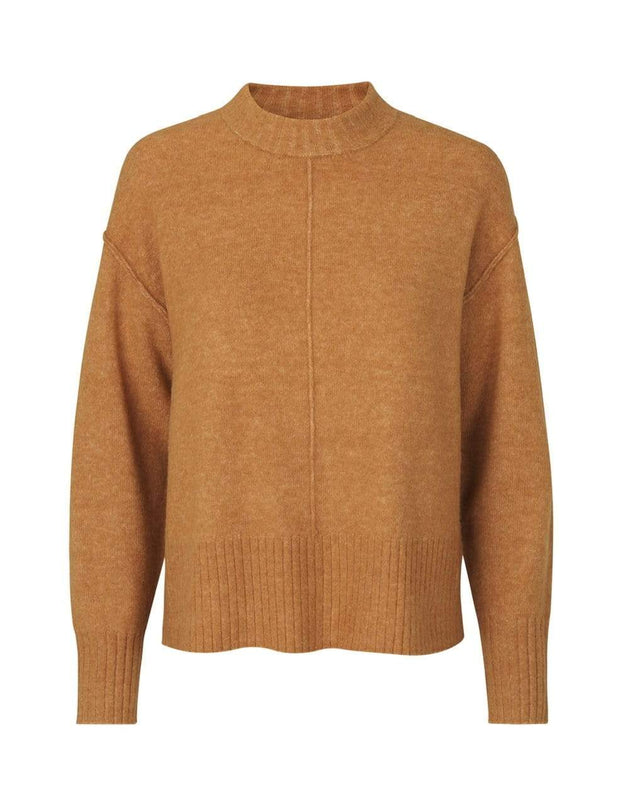 Levete Room Gensere Cille 17 Pullover Camel Sapatos