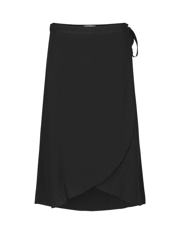 Levete Room Skjørt Berta solid skirt Sort Sapatos