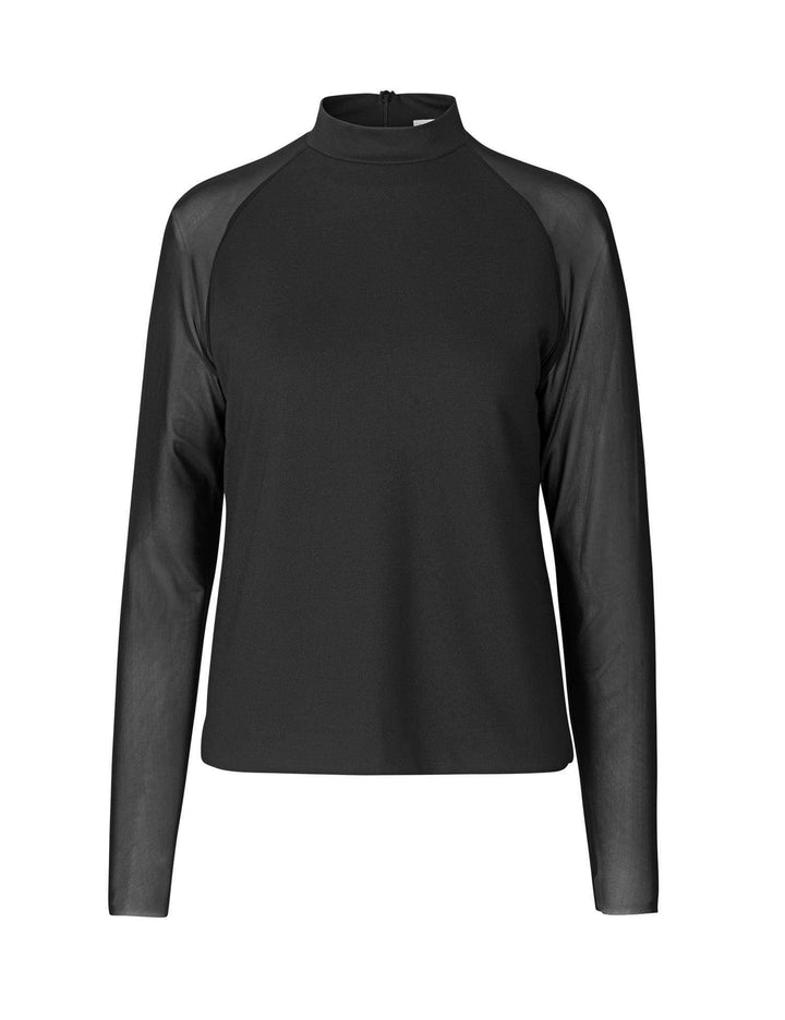Levete Room Topper Honie 2 blouse Sort Sapatos
