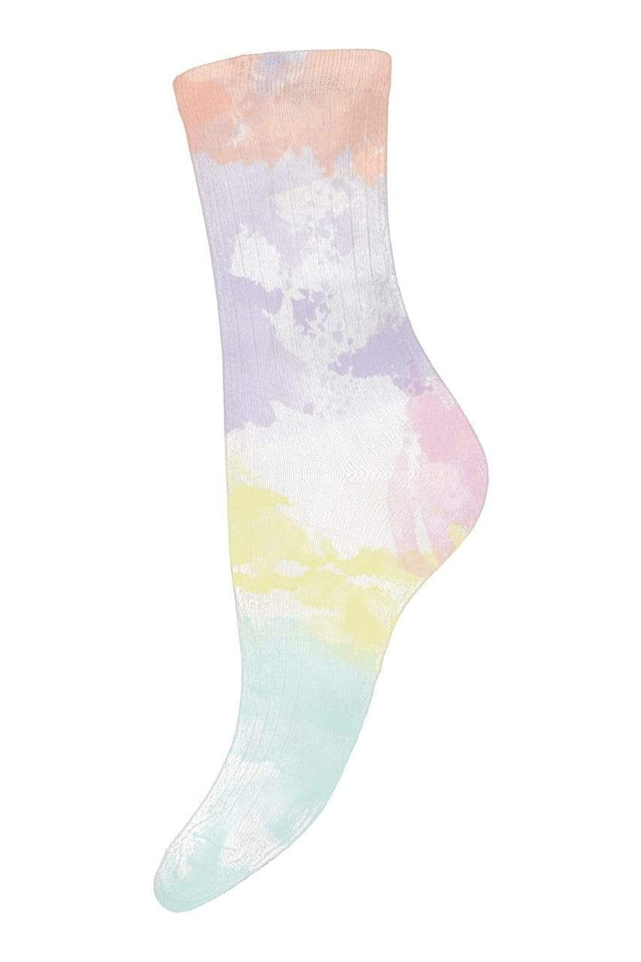 mp Denmark Sokker Tie Dye Socks Mint Sapatos