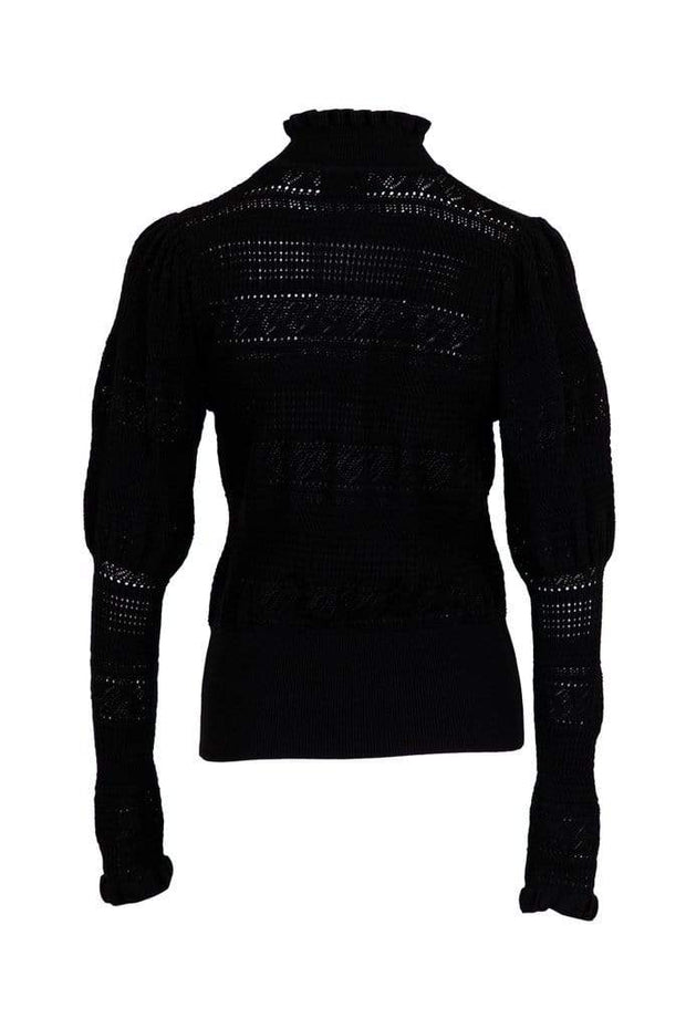 Neo Noir Gensere Darli Knit Blouse Sort Sapatos