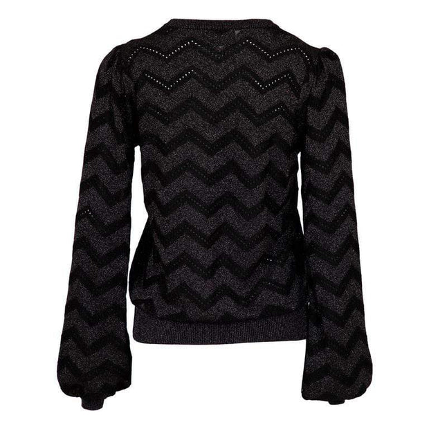 Neo Noir Gensere Hana Knit Blouse Sort Sapatos