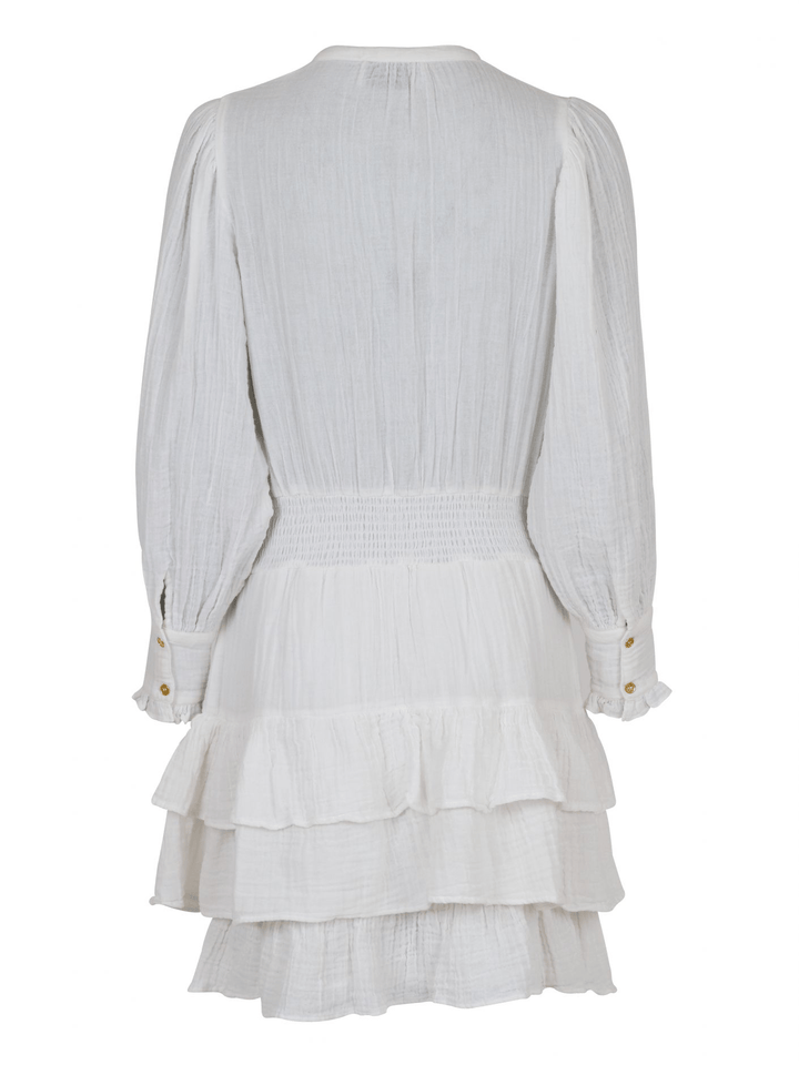 Bimba Gauze Dress Offwhite