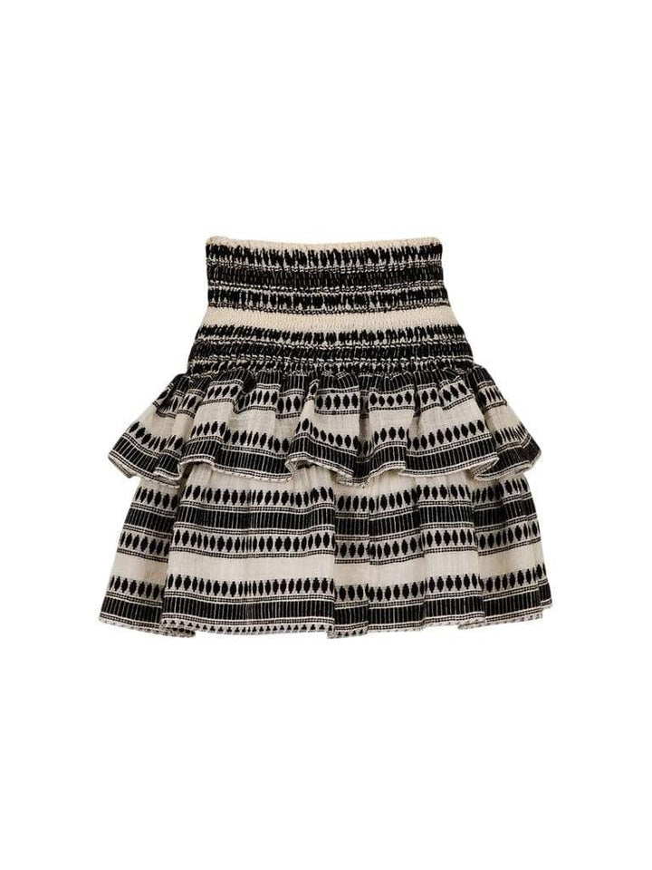 Carin Stitch Skirt Offwhite