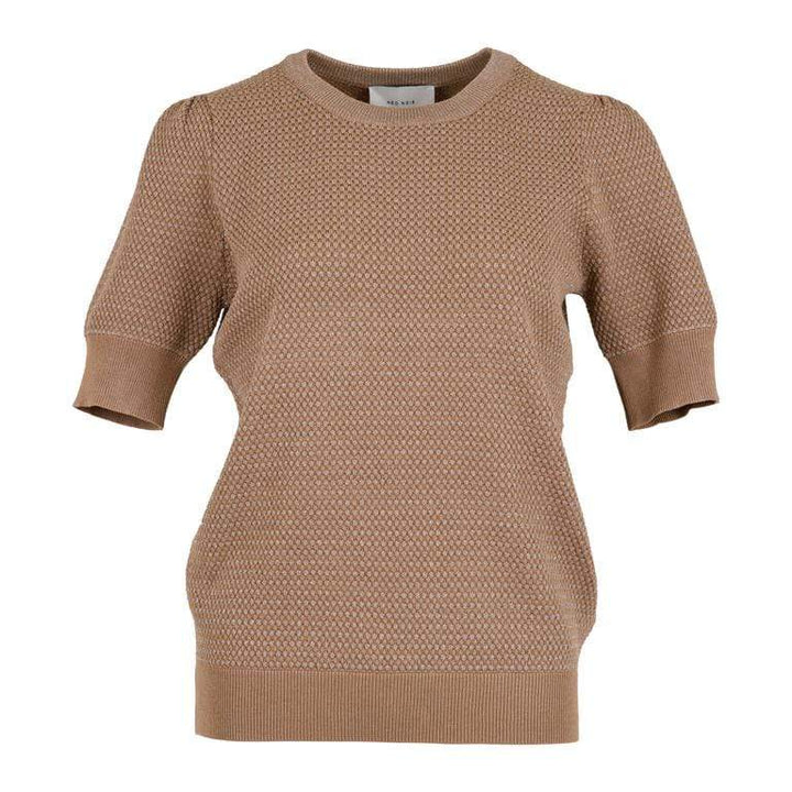 Neo Noir Topper Mary knit tee Camel Sapatos