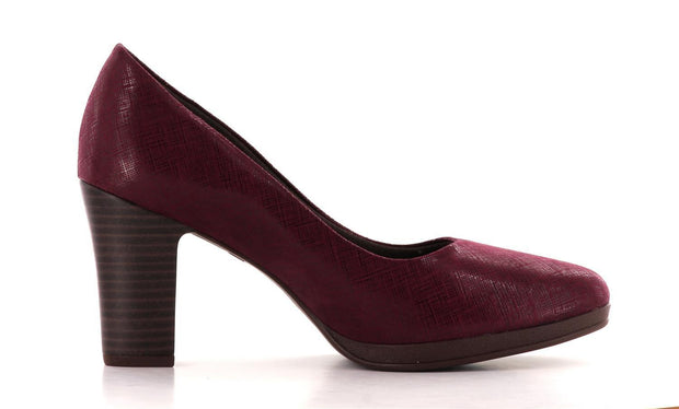 Piccadilly Sko - Pumps Piccadilly klassisk pumps, dame Burgunder Sapatos