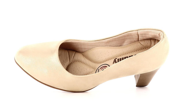Piccadilly Sko - Pumps Piccadilly klassisk pumps, dame Gull Sapatos