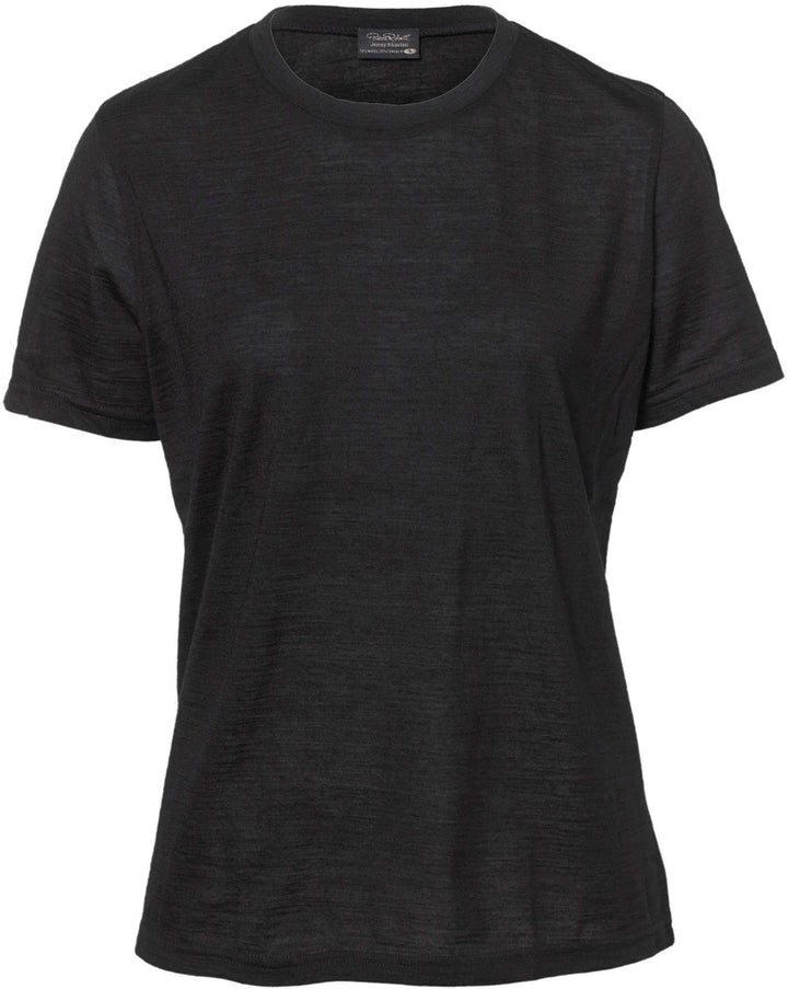 Pierre Robert Topper Jenny Skavlan Wool Wide T-shirt Sort Sapatos