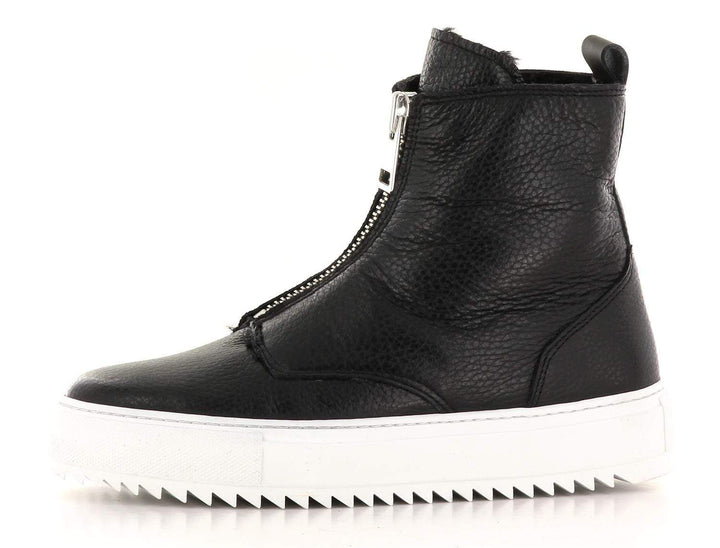 Sapatos MD Sneakers Molly2 sneaker med fór Sort Sapatos