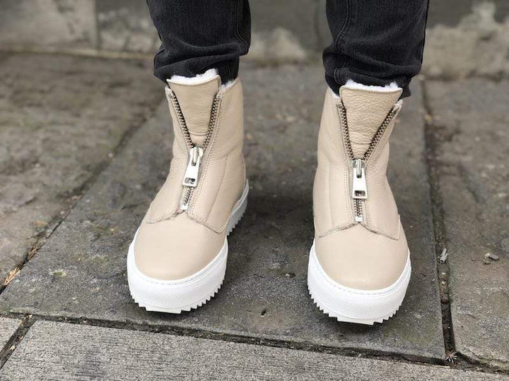 Molly2 sneaker Medium Beige