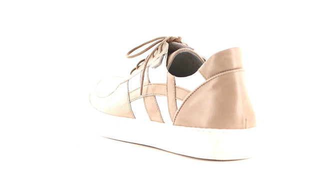 Sapatos Sneakers Lav sneakers Beige Sapatos