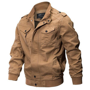 3b8af0a7646 Epualet Tactical Military Washed Cotton Plus Size Outdoor Work Autumn Casual  Jacket