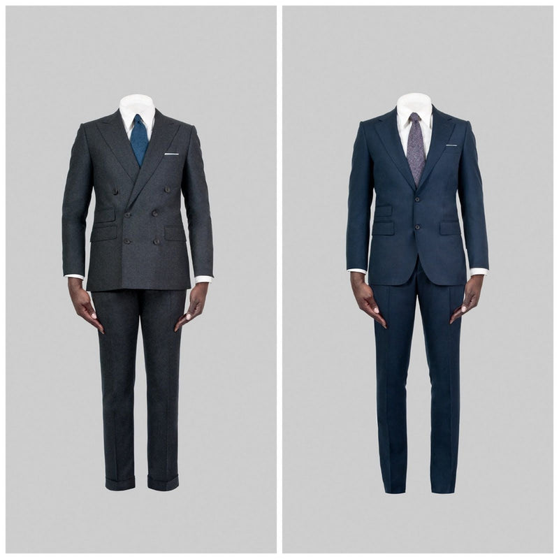 Choosing Single or Double Breasted Mens Suits Milwaukee