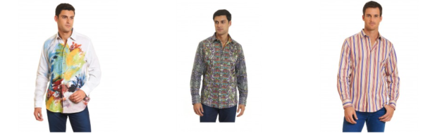 Don't Let Winter Blues Blah Your Style. Add a Little Color with Robert Graham
