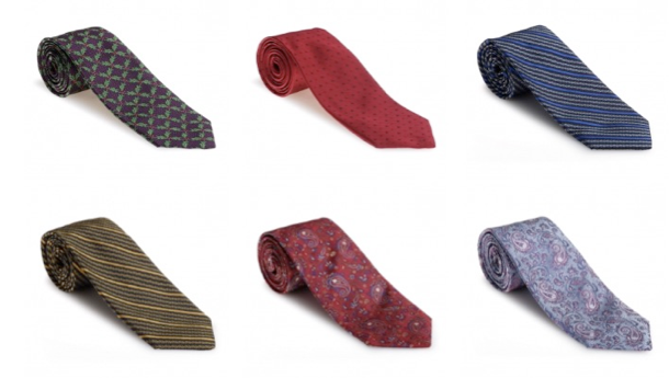 Best of Class Neckwear by Robert Talbott Available at Harleys