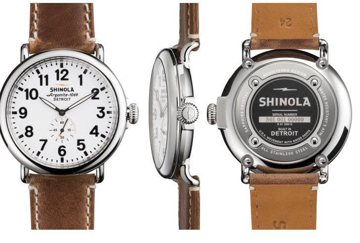 What's the Best Accessory to Pair with a Dress Shirt? A Shinola Watch.