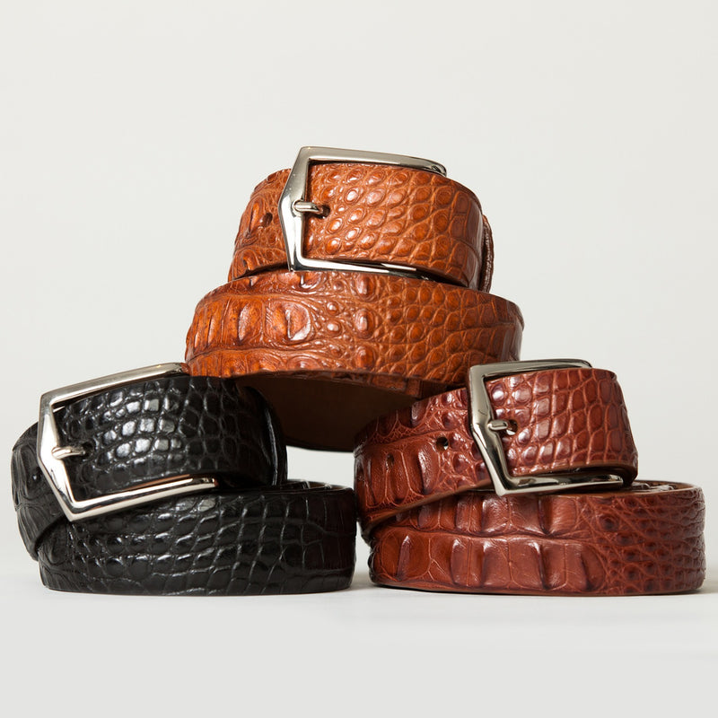 Give Him the Gift of a Fine W. Kleinberg Belt