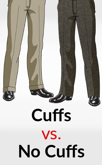To Cuff or Not to Cuff Luxury Mens Clothing