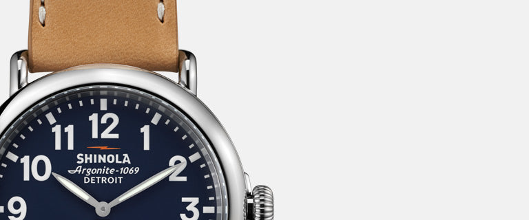 Roll Up Your Sleeves for a Shinola Watch