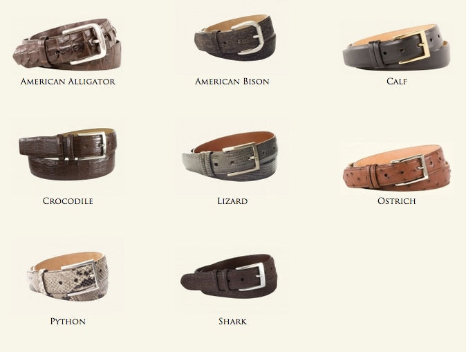 Looking for Mens Fashion Accessories in Milwaukee? Don't Overlook the Belt!