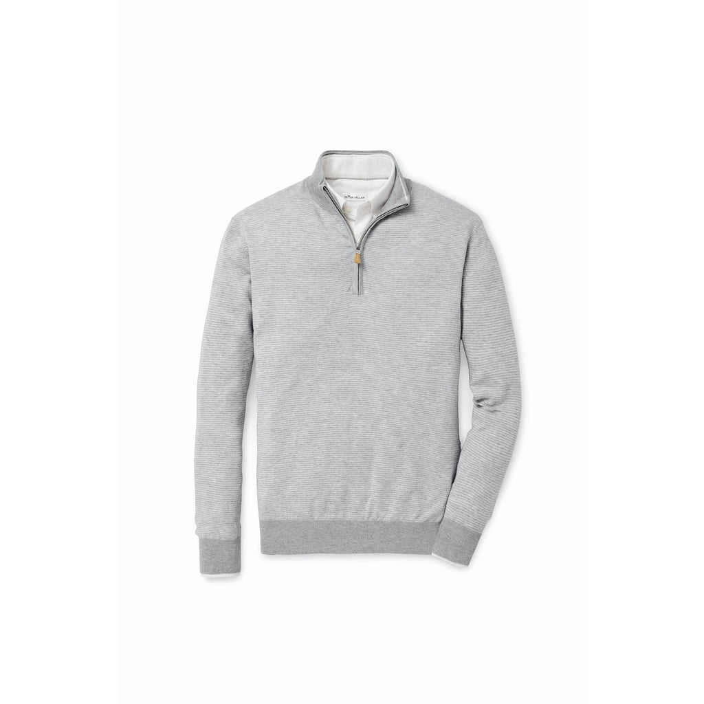 Needle-Stripe 1/4 Zip