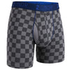Nebraska Printed Gingham Check Stretch Jersey Boxer