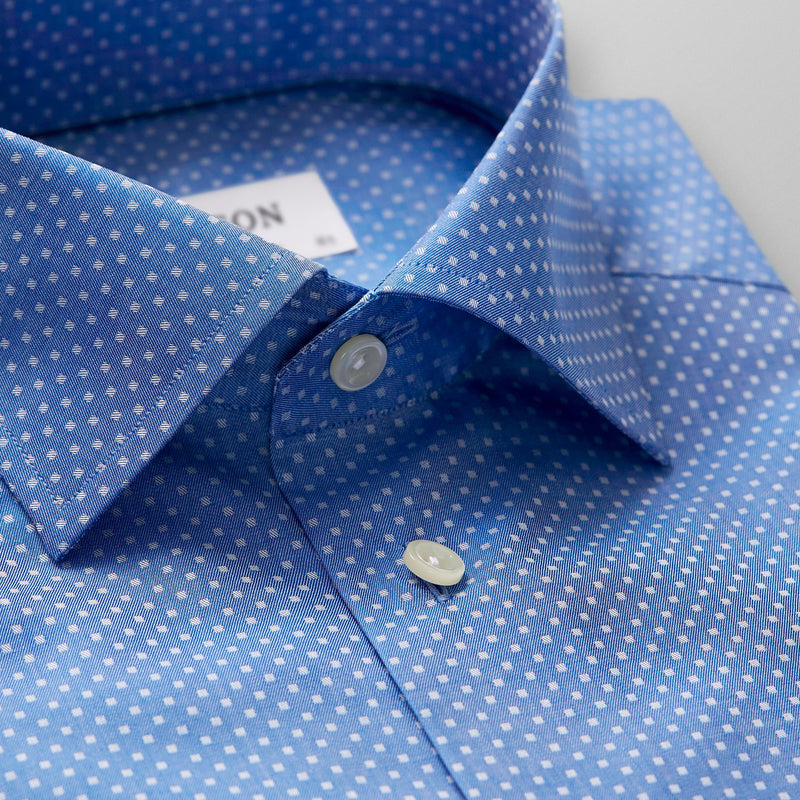 Woven Micro Squares Shirt