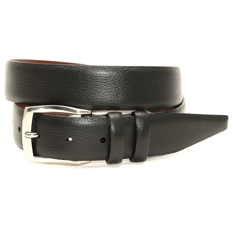 Distressed Waxed Harness Leather Belt