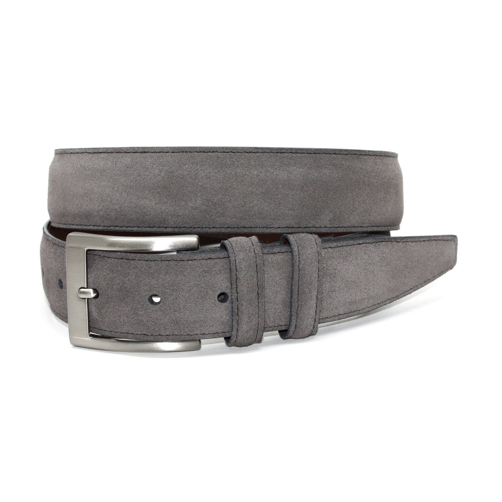 Italian Sueded Calfskin Belt
