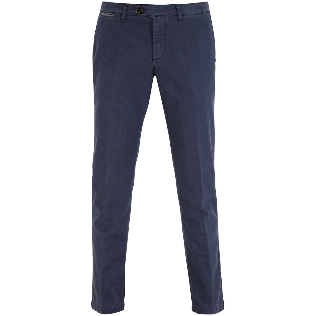 Flat Front Cotton Stretch Chino
