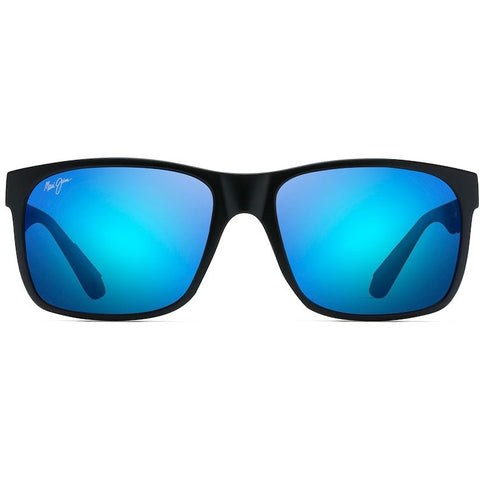 BLACK CORAL Polarized Rectangular Sunglasses