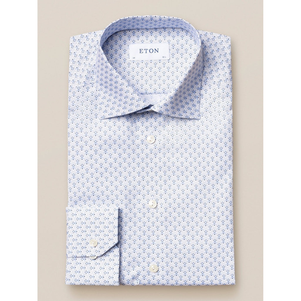 Medallion Poplin Shirt