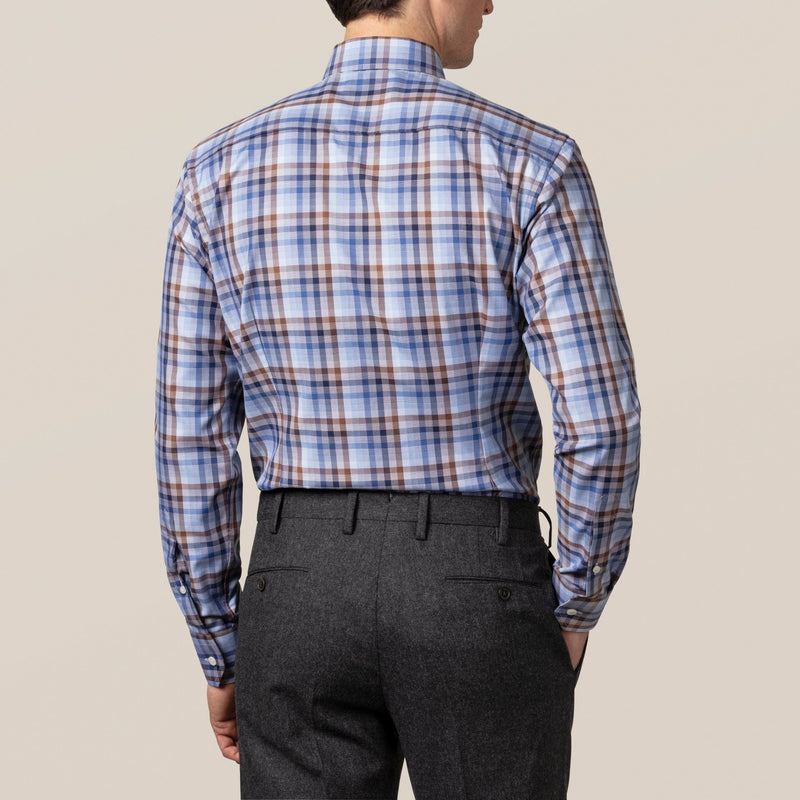 Plaid Signature Twill Dress Shirt