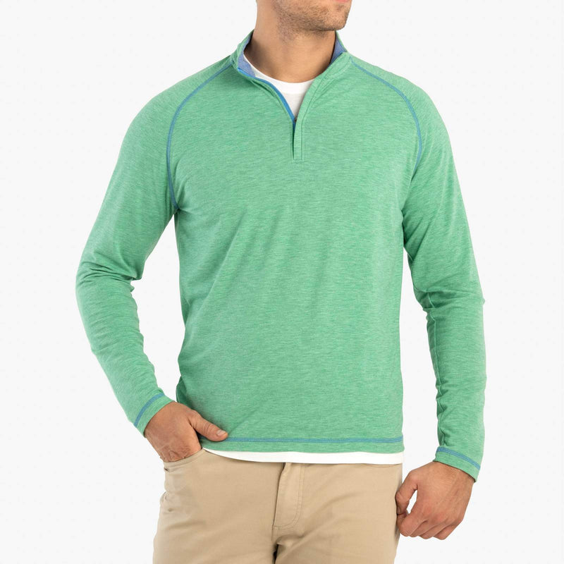 Collier Bamboo Blend 1/4 Zip Pullover