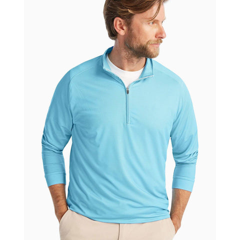Long Sleeve Plaited Stripe Polo