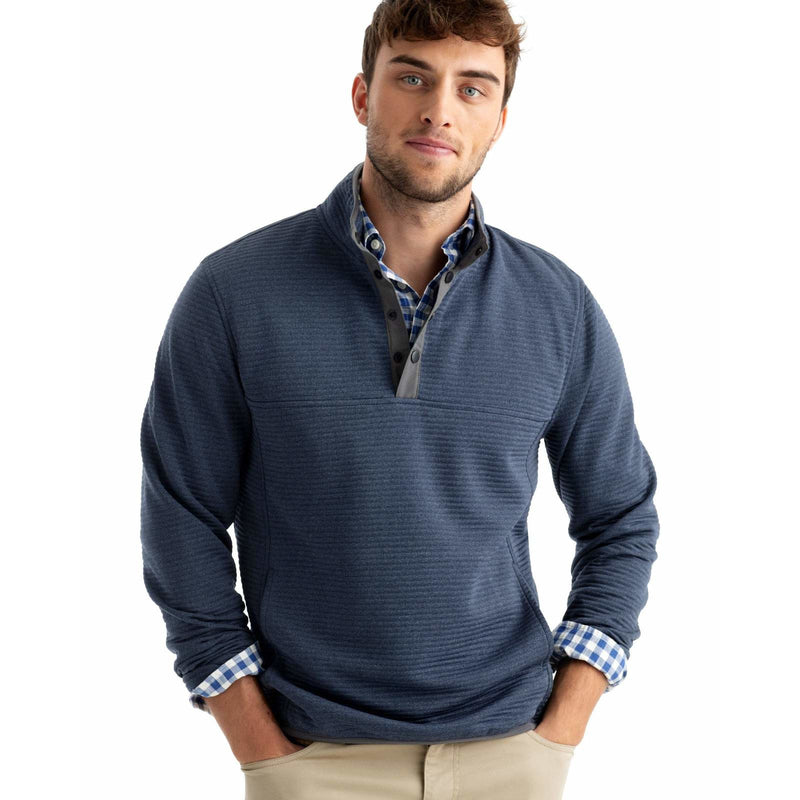 Halpert Snap Henely Quilted Pullover