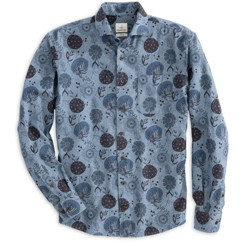 Bird Knit Performance Long Sleeve Shirt