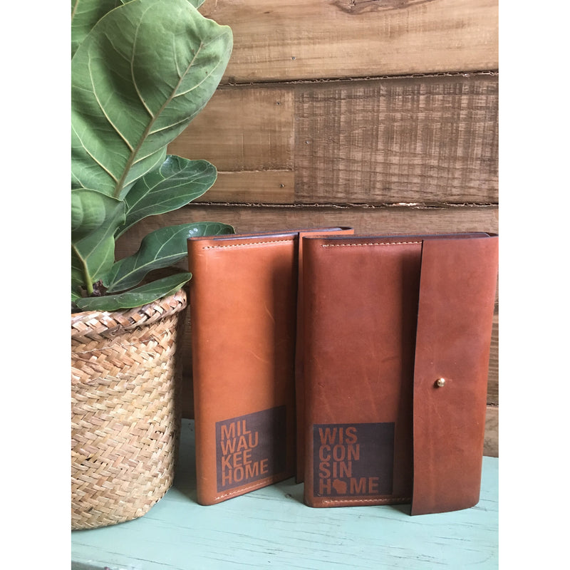 Wisconsin Home Leather Bound Journal