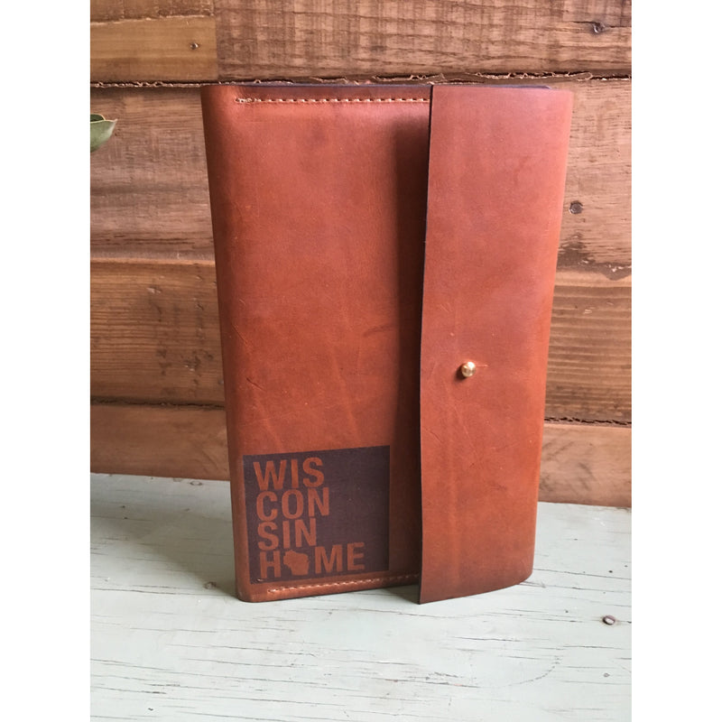 Milwaukee Home Leather Bound Journal