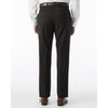 100% Wool Modern Fit Flat Front Dress Pant
