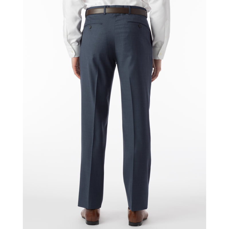 100% Wool Sharkskin Modern Fit Dress Pant