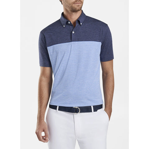 Jubilee Stripe Performance Polo