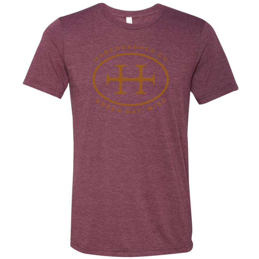 Haberdasher Co. Tri-Blend Tee Shirt