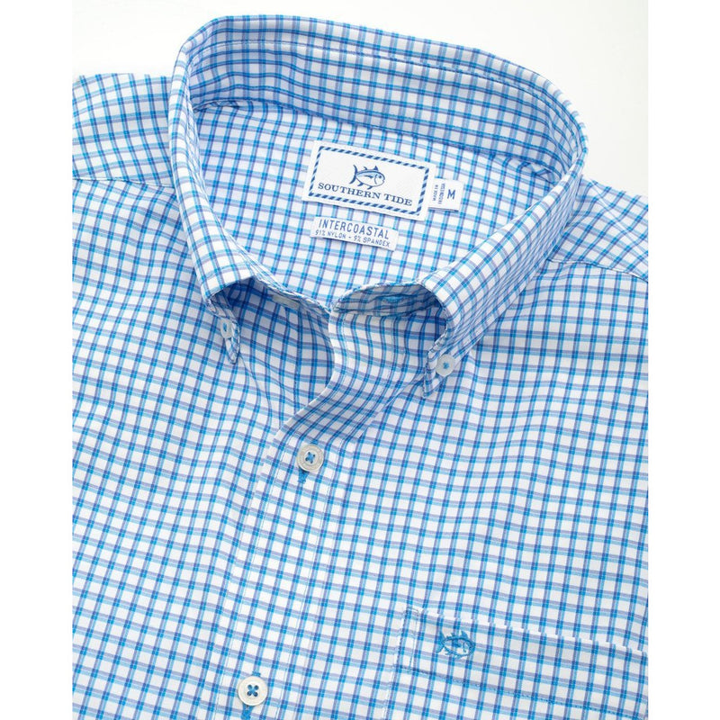 Awash Check Intercoastal Performance Sport Shirt